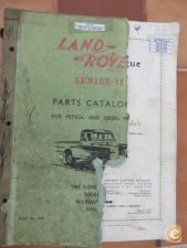 Parts Catalog Land Rover Series II e IIA    - 1958