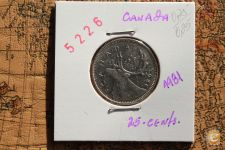 25-Centimes_CANADA_1981_                        A/R= [ 5226]