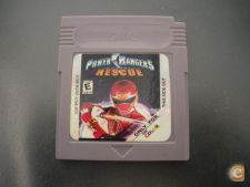 JOGO GAME BOY COLOR POWER RANGERS RESCUE  CGB-EUR #