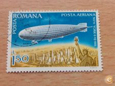 ROMENIA - SCOTT C217     ZEPPELIN