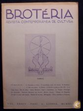 BROTÉRIA - REVISTA CONTEMPORÂNEA DE CULTURA (VOL. 34) 1942