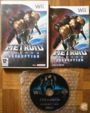 metroid prime 3 corruption - nintendo wii