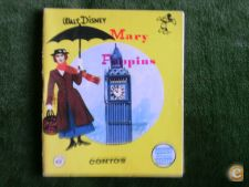 Mary Poppins - Mini Livro - Walt Disney - 1970
