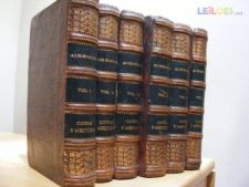 COURS D'AGRICULTURE.GASPARIN.6 VOLS.1860
