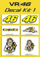 Valentino Rossi - 46 Decal kit 1