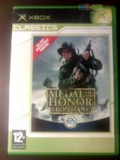 MEDAL OF HONOR FRONTLINE XBOX COMPLETO