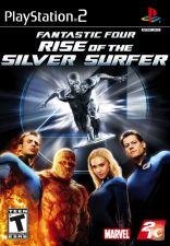 PS2 Fantastic four - Rise of the SILVER SURFER