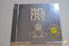 CD Duplo Simple Minds Live In The City Of Light 1987