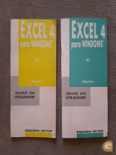 Excel 4 para Windows - guias do utilizador (2 vols.)