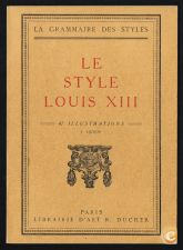 LE STYLE LOUIS XIII
