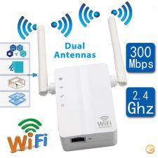 INF014 - Router Repetidor WiFi 300Mbps