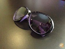 Oculos de Sol UV400 Fashion Moda Estilo Roxo Stock