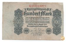 ALEMANHA GERMANY 100 MARK 1922 PICK 75 VER SCANS