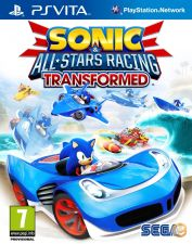 Sonic & All stars Racing Transformed - NOVO PS Vita