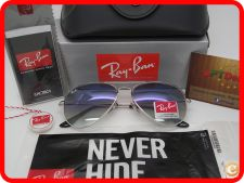 STOCK - Oculos Ray Ban Aviator RB 3025 - Azul Gradiente