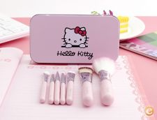 Conjunto set de 7 MINI pinceis hello kitty 9,5 cm * 12 cm