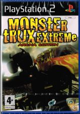 PS2 MONSTER TRUX EXTREME Arena Edition - NOVO! SELADO!