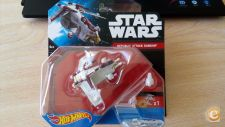 HOT WHEELS - STAR WARS     REPUBLIC ATTACK GUNSHIP    NOVO