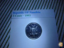 FO 50 NAMIBIA 5 CENTS 1993