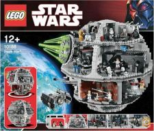 LEGO DISNEY STAR WARS 10188 DEATH STAR NOVO SELADO