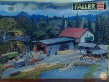 "FALLER-SET ""INDUSTRIA de MADEIRA"" Composto por 4 KIT`S"