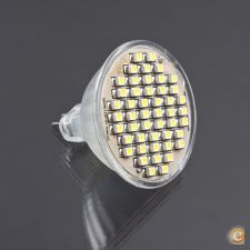 Lâmpada LED MR16 SMD48 | 3,5W | Coolwhite / Warmwhite
