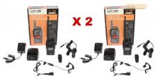 KIT 2 PACK DE WALKIE TALKIE PROFISSIONAL LUTHOR TL88 PMR446