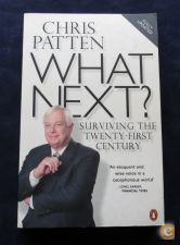 22. Livro What Next ? Chris Patten