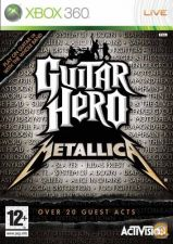 Guitar Hero Metallica - Original Xbox 360