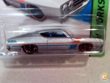 2015 HOT WHEELS - 69 FORD TORINO TALLADEGA      *NOVO*