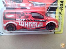 2015 HOT WHEELS - HOT WHEELS FORD TRANSIT CONNECT  *NOVO*