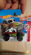 2016 HOT WHEELS - CUSTOM FORD BRONCO        NOVO