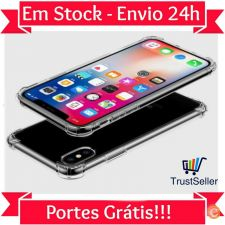 Z301 Capa Gel Silicone Transparente Apple iPhone X Envio 24h