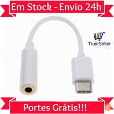 Z302 Cabo Adaptador USB-C - Audio Jack 3.5mm Phones