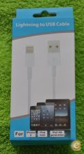 Cabo Lightning Apple Iphone - 5G/5C/5S, Ipad Mini e Ipad 4