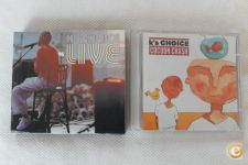 "CD Duplo *Ks Choice: Live* +oferta CD ""Cocoon Crash"" - Novos"