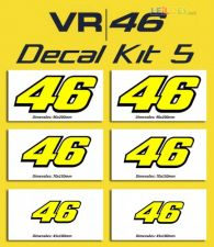Valentino Rossi - 46 Decal kit 5