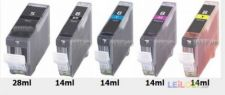 5 x TINTEIRO CANON MP 510 - 520 - 530 etc.