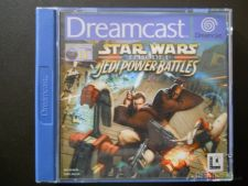 STAR WARS JEDI POWER BAT. Caixa excelente Dreamcast COMPLETO