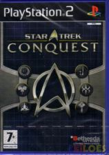 PS2 STAR TREK CONQUEST - NOVO! SELADO! ORIGINAL!