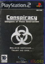 PS2 CONSPIRACY Weapons of Mass Destruction - NOVO! SELADO!!!