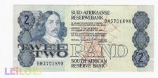 2 rands   AFRICA do SUL