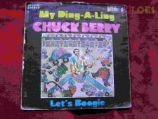 """CHUCK BERRY """"MY DING A LING"""" SINGLE 7"""" 45 RPM"""