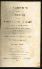 A NARRATIVE OF THE CAMPAIGN OF THE BRITISH ARMY IN SPAIN...