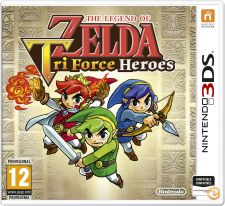 NINTENDO 3DS LEGEND OF ZELDA TRI FORCE HEROES NOVO SELADO