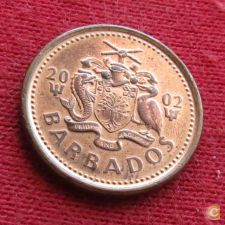 Barbados 1 cent 2002 KM# 10a   *V