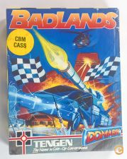 Commodore 1990 BADLANDS Tengen DOMARK C64 Cassette