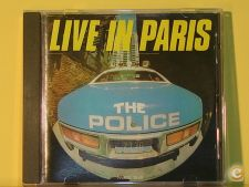 """THE POLICE-LIVE IN PARIS """"LIVE""""(cd ALBUM)Unofficial Release"""