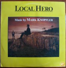 LOCAL HERO.MUSIC BY MARK KNOPFLER. LP.