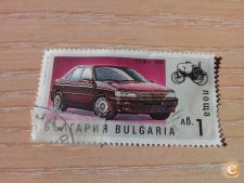 BULGARIA - SCOTT 3678 - CARROS